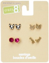 Crazy 8 Frenchie Earrings 4-Pack