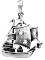 Summit The Black Pearl Pendant - Collectible Medallion Necklace Accessory