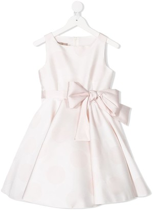 La Stupenderia Sleeveless Bow Detail Dress
