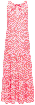 Charli Printed Crepe Maxi Dress