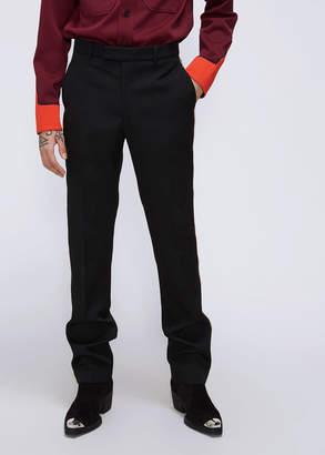 Calvin Klein Plaid Ribbon Stripe Trouser