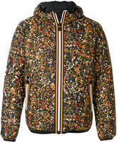 DSQUARED2 x K-WAY reversible floral print jacket