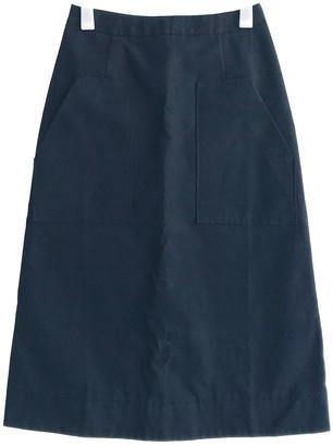 Studio Nicholson Black Cotton Skirts