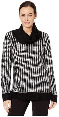 Calvin Klein Long Sleeve Dot Sweater