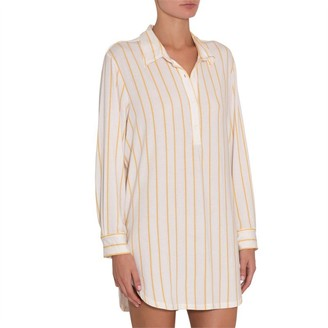 Eberjey Summer Stripes Boyfriend Sleepshirt S