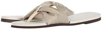 Havaianas You St. Tropez Material Sandal (Beige) Women's Shoes
