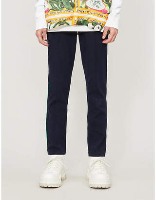 Benetton Tapered cotton-jersey jogging bottoms