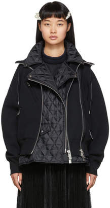 Sacai Black Sponge Jacket