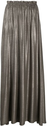 Majestic Filatures Metallic Midi Skirt