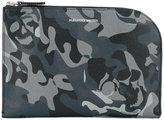 Alexander McQueen camouflage clutch