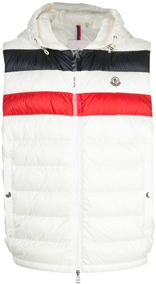 Moncler Padded Striped Gilet