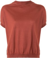 Marni short-sleeve knitted top