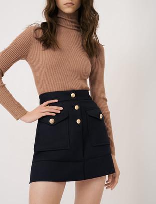 Maje A-line skirt