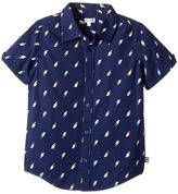 Splendid Littles All Over Printed Lightning Bolts Woven Shirt Boy's Clothing