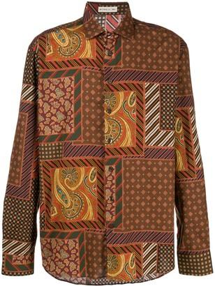 Etro Paisley Print Dress Shirt