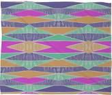 Deny Designs Amy Sia Pastel Tribal Fleece Throw Blanket, 60-Inch by 50-Inch