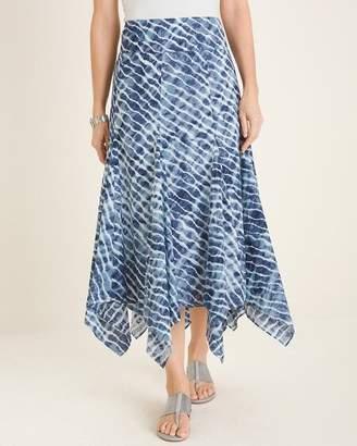 Chico's Chicos Tie-Dye Maxi Skirt