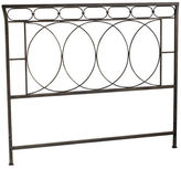 Pier 1 Imports Iron Metal Rings Queen Headboard