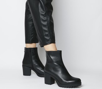 Vagabond Grace Back Zip Boots Black