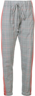 Monse Glen Plaid Track Pants