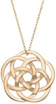 Celtic 14k Gold Over Silver Knot Pendant