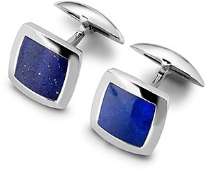 Aspinal of London Sterling Silver Square Cufflinks