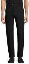 Jil Sander Solid Flat Front Trousers