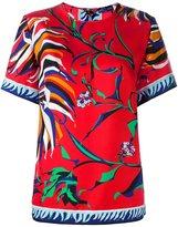Emilio Pucci floral print T-shirt