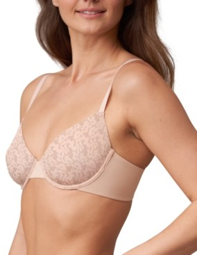 Skarlett Blue Women's Compel Unlined Underwire Demi Cup Bra 324178