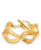 Oscar de la Renta Women's Twisted Ribbon Bracelet