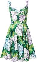 Dolce & Gabbana hydrangea print dress - women - Silk/Cotton/Nylon/Viscose - 42