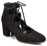 Women's Deanne Ghillie Lace Up Pumps - Mossimo Supply Co.