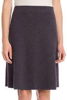 Nic+Zoe Textured A-Line Skirt