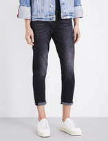 7 For All Mankind Josefina boyfriend-fit straight cropped jeans