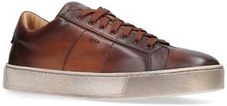Santoni Gloria Soft Leather Sneakers