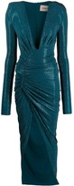 Alexandre Vauthier long-sleeve fitted maxi dress