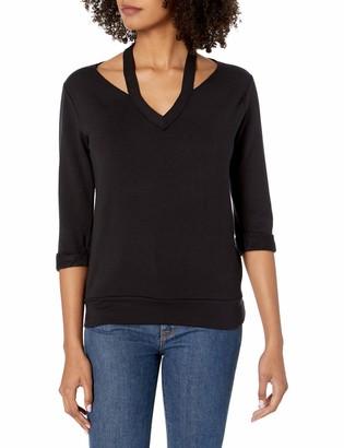 Bailey 44 Women's Sarah V-Neck Super Luxe Fleece Sweatshirt