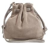 Clare Vivier Petit Henri Bucket Bag - Grey