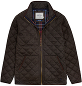 Joules Estate Quilted Jacket, Bark Brown