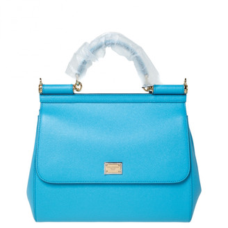 Dolce & Gabbana Sicily Blue Exotic leathers Handbags