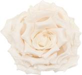 Gucci Broche Rose En Coton Et Soie