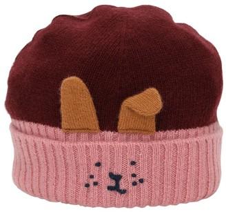 Il Gufo Wool Hat W/ Rabbit Face
