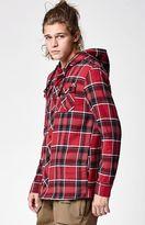 Volcom Burl Insulated Plaid Flannel Shacket