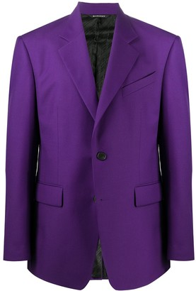 Givenchy Single Breasted Blazer Jacket