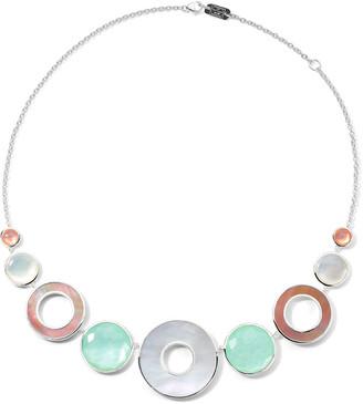Ippolita Wonderland 9-Stone Collar Necklace in Saguaro