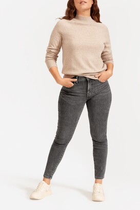 Everlane The Authentic Stretch Mid-Rise Skinny Jeans