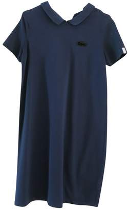 Lacoste Navy Cotton Dress for Women