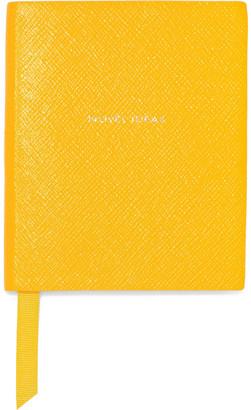 Smythson Novel Ideas Premier Textured-leather Notebook
