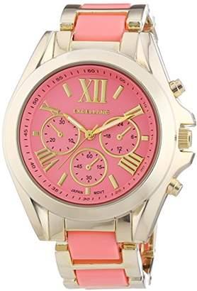 Excellanc Excel Ladies Wristwatch Quartz Analog XL Different Materials LANC 150905500007