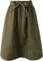 Ulla Johnson drawstring skirt - women - Cotton/Linen/Flax - 4